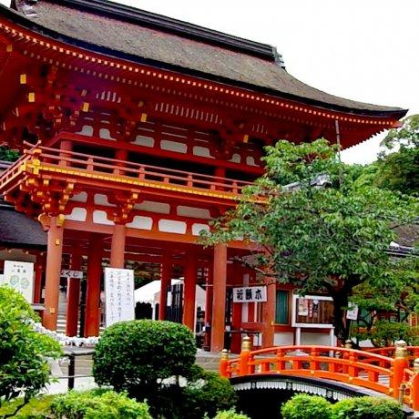 여름에 가본 카미가모 사원