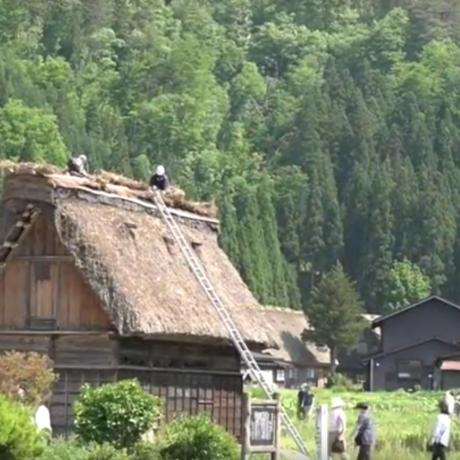 시라카와고에서 가장 큰 '와다' 가문