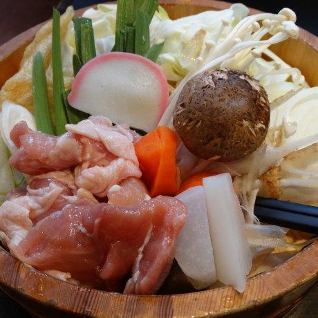 료고쿠 스모 타운의 창코 나베(ちゃんこ鍋)