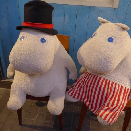 A Date with a Moomin