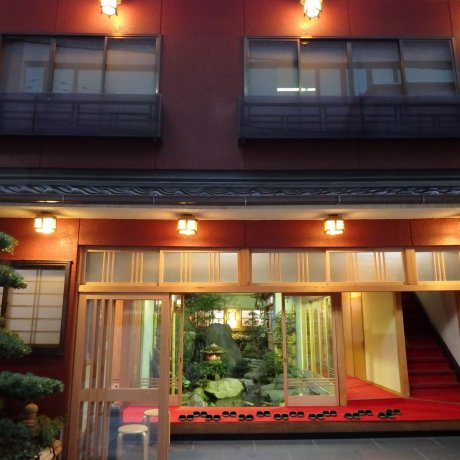 교토 역 근처 니시키로 료칸