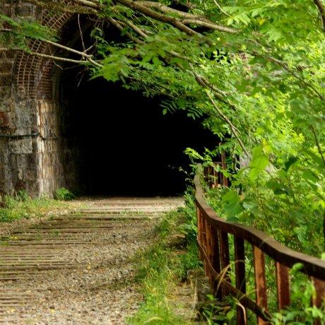타케다오, 버려진 철도 등산 코스