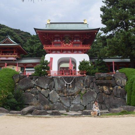 시모노세키의 거리