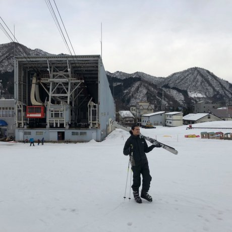 A First Ski Experience in Yuzawa